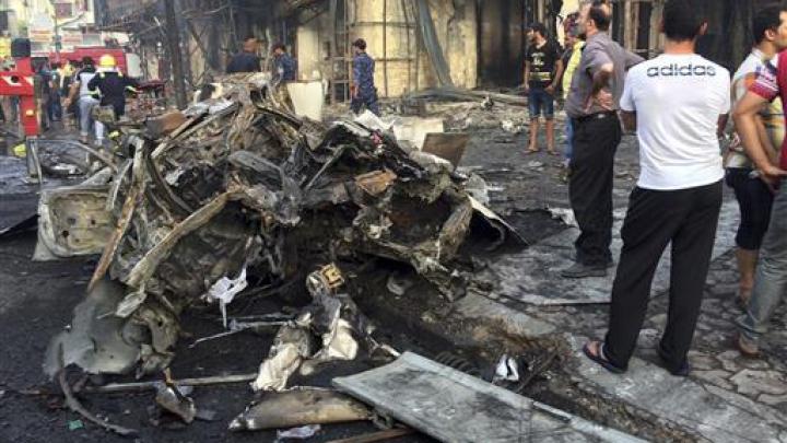 ATENTAT SINUCIGAŞ la Bagdad. Cel puţin 12 persoane au murit