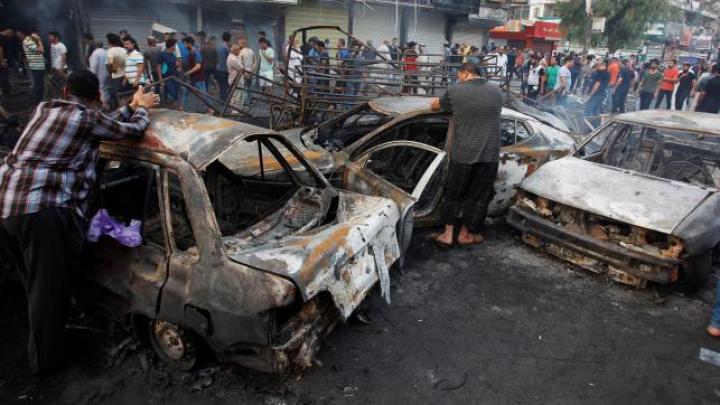 ATACURI CU BOMBĂ în Bagdad! Zeci de oameni au murit, iar alte sute au fost rănite (VIDEO)