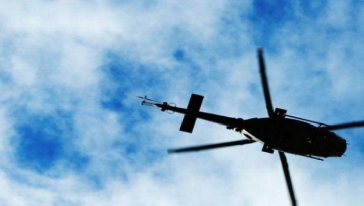 NENOROCIRE! Elicopter militar care transporta comandanți ai Armatei, prăbușit în regiunea Mării Negre