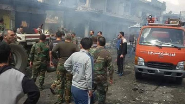Un nou atac terorist în Siria. Cel puțin un mort și peste 50 de răniți