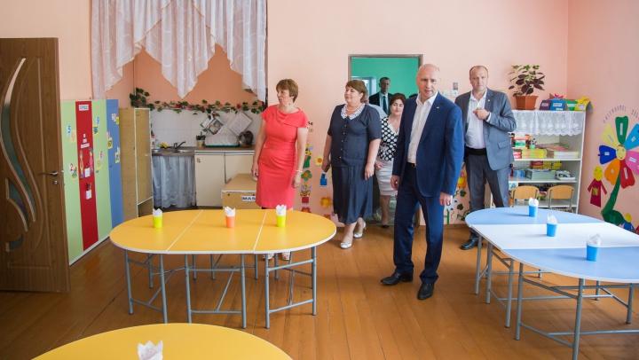Premierul Pavel Filip a fost în vizită la grădiniţa din satul Pârliţa