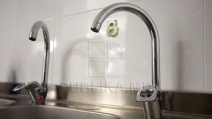 ATENŢIE! Locuitorii mai multor străzi din Capitală vor rămâne fără apă la robinet
