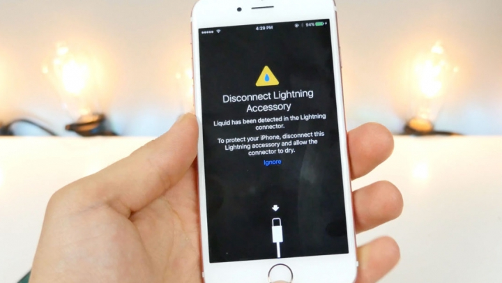 """iPhone-urile vor deveni mai """"rezistente"""" la apă odată cu iOS 10"""