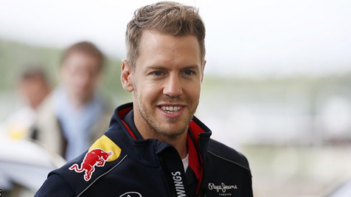 Sebastian Vettel îşi doreşte să câştige în faţa propriilor suporteri la Marele Premiu al Germaniei
