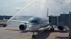 GROAZĂ pe Aeropotul Ataturk din Istanbul. Motorul unui avion A LUAT FOC la decolare (VIDEO)
