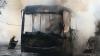 INCENDIU de amploare în Brazilia! Un autobuz şi trei maşini, făcute SCRUM