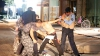 Imagini DRAMATICE! Un copil de 12 ani, oprit de polițiști înainte de a detona centura cu explozibil (FOTO)