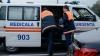 Accident cu implicarea unei ambulanţe în Capitală. Un asistent medical, internat la spital