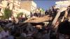 MAROC: Un bloc cu patru etaje s-a prăbuşit peste o cafenea plină cu oameni. Sunt victime (VIDEO)