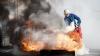 INCENDIU! Pompierii au intervenit în forţă în sectorul Râșcani din Capitală (FOTO)