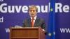 Premierul României, Dacian Cioloș, întâmpinat la Reședința de Stat de Pavel Filip (VIDEO)