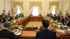 OBIECTUL NEOBIŞNUIT de pe masa de prânz a lui Putin şi Erdogan (FOTO)