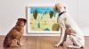 În Marea Britanie a fost deschisă prima expoziţie de artă pentru câini