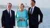 Viitorul Europei după Brexit. Angela Merkel a discutat cu Mateo Renzi și Francois Hollande