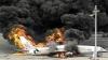 PANICĂ ŞI GROAZĂ! Un avion a aterizat forțat pe aeroport după ce a luat foc în timpul zborului (VIDEO)