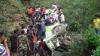 Accident GRAV în India. Un autocar cu 30 de pasageri s-a prăbușit de pe un pod (VIDEO)