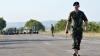 Pregătiri intense pentru Ziua Independenţei: Soldaţii au scos peste 30 de unități de tehnică militară