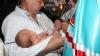 Mitropolia susţine creşterea natalităţii! Fiecare al patrulea copil din familie, botezat de mitropolit