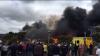 O şcoală din Anglia a fost distrusă de un incendiu puternic (VIDEO)