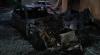 GROAZĂ în sectorul Râșcani al Capitalei: O mașină a luat foc chiar în curtea unui bloc