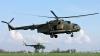 Un elicopter MI-2 s-a prăbuşit în Rusia (FOTO)