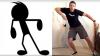 RÂZI CU LACRIMI! Un internaut a imitat pictogramele dansatoare de pe Messenger (VIDEO)