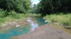 Râul Kamenka din Rusia şi-a schimbat culoarea! Fluviul a căpătat o nuanţă ciudată de albastru (VIDEO)