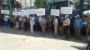 Locuitorii oraşului Orhei au protestat în faţa sediului Jurnal TV: Să iasă afară şi să-şi ceară scuze
