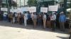 Au spus NU Platformei DA. Zeci de orheieni au protestat faţă de prezenţa reprezentanţilor în oraş