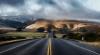 Imagini apocaliptice pe șosea. Șoferii au ieșit speriați din mașini să vadă ce se întâmplă (FOTO)