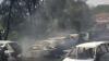 Proprietarii SUNT ŞOCAŢI! 32 de maşini s-au făcut scrum într-o parcare
