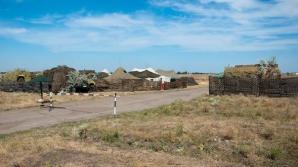 Exerciții militare în stânga Nistrului. Așa-numita armată transnistreană a simulat un atac neașteptat