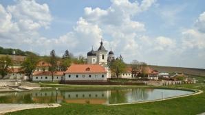 """""""Eu sunt Moldova"""", la Căpriana. Locuitorii se mândresc cu cea mai veche mănăstire din țară"""
