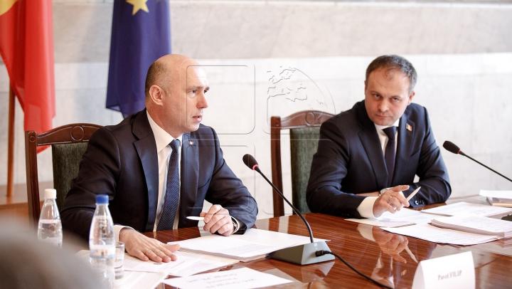 Candu şi Filip, despre realizarea foii de parcurs: Moldova are o perspectivă puternică de dezvoltare (VIDEO)
