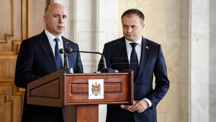 Candu și Filip vor susține o conferință de presă la ora 10:00. Publika TV/MD va transmite evenimentul ÎN DIRECT