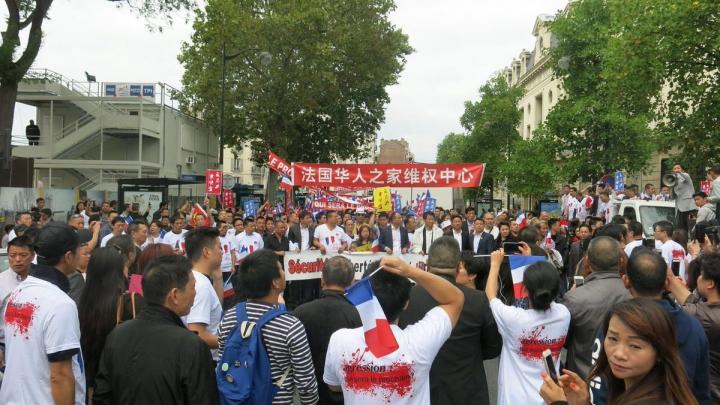 Comunitatea asiatică a protestat în Paris împotriva agresiunilor cu caracter rasist