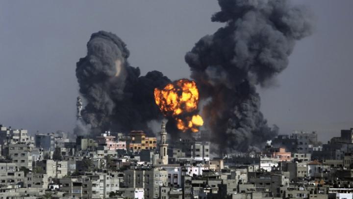Fâșia Gaza: Patru răniți într-o serie de raiduri israeliene după un tir de rachetă palestinian