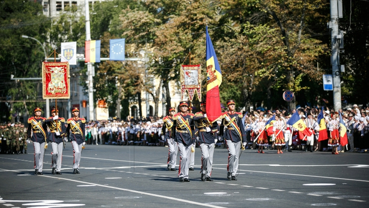 LA MULŢI ANI, MOLDOVA! 25 de ani de Independenţă, sărbătoriţi în PMAN (FOTOREPORT)