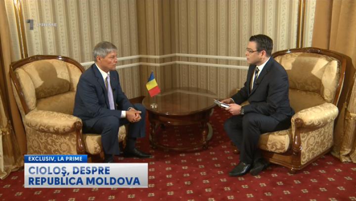 INTERVIU EXCLUSIV. Dacian Cioloş vorbeşte despre proiectele care vor schimba viitorul Moldovei