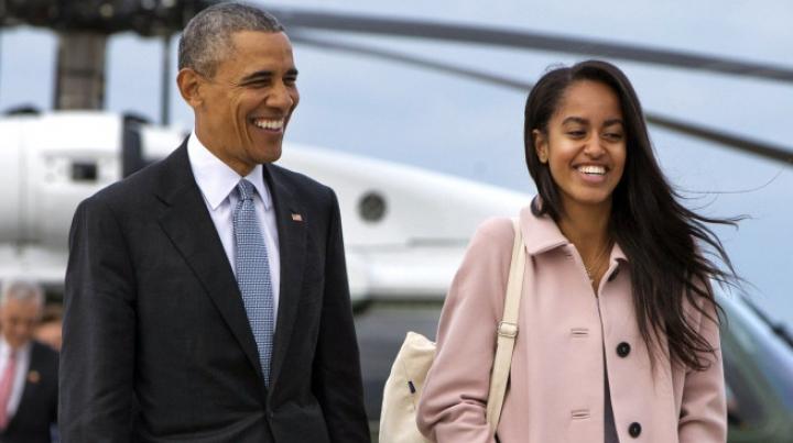 Fiica cea mare a lui Barack Obama ar fi fumat marijuana la un festival (VIDEO)