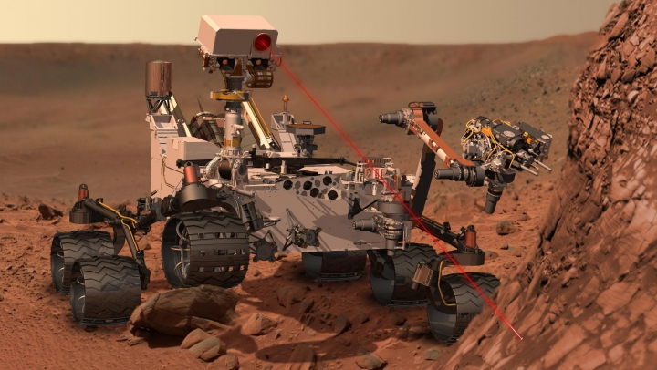 NASA a anunţat că roverul său Curiosity a detectat încă o dată metan pe Marte, însă nu ştie de unde provine acest gaz
