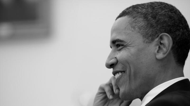 INEDIT! Un artist german a realizat un portret al lui Barack Obama din 3.600 de timbre (FOTO)