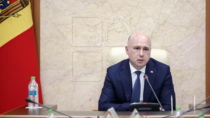 Primul interviu al lui Filip, realizat în sala de şedinţe a Guvernului, transmis la ora 21:00 la Prime TV