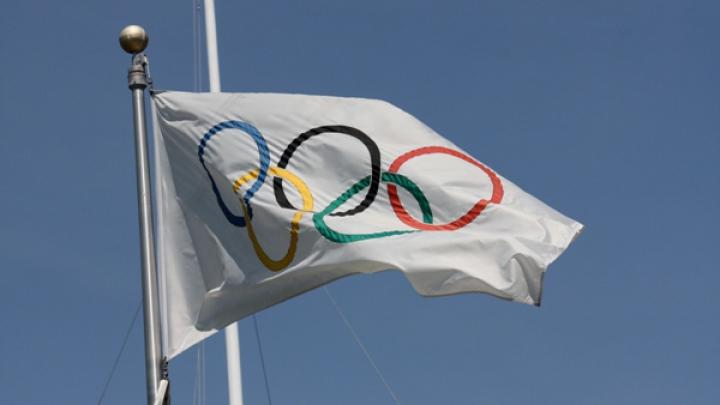 Drapelul olimpic a ajuns la Tokyo