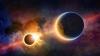 INCREDIBIL! Un satelit NASA a surprins momentul când Pământul a trecut prin faţa Soarelui simultan cu Luna