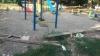 REVOLTĂTOR! Un teren de joacă din Capitală A FOST VANDALIZAT (FOTO)