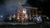 Ambasada Rusiei la Kiev, ATACATĂ cu fumigene (VIDEO)