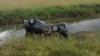 Centura de siguranţă i-a fost FATALĂ! Un bărbat a murit, după ce a căzut cu maşina într-un lac