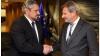 Andrei Galbur, la sfat cu Johannes Hahn. Oficialii au discutat despre evoluţia reformelor în Republica Moldova