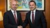 Relaţiile bilaterale dintre Moldova și Luxemburg, discutate de Pavel Filip şi Xavier Bettel